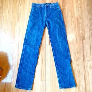 Vintage Wrangler Cowboy Cut Made In USA Jeans